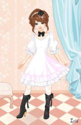 Irechan's dress up game by Codax