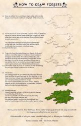 How to draw Forests (on maps) by stratomunchkin