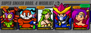 smash bros wishlist meme by MrBigTheArtist