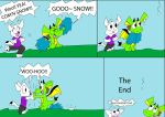 Its Gunna Snow - comic by dawny