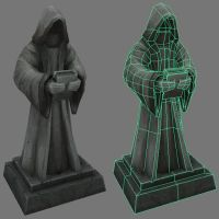 Statue asset. by Jimpaw