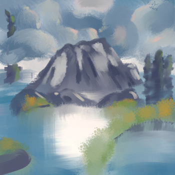 Playing with Bob Ross 1.2 by A-Tabit-Production