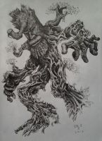 Treebeard Fangorn from Lord of the Rings by DoctorFantastic