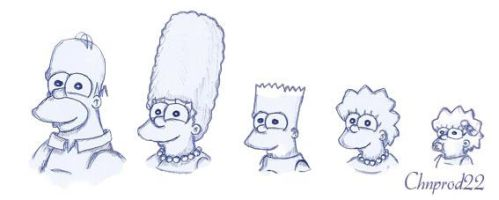 Simpsons Family by ChnProd22