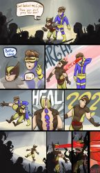 Cyke And Wolvie: a great idea by Andrexx