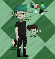 Character Sh(y)eet II Antisepticeye by Puppyrelp
