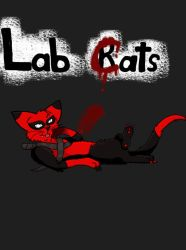 Lab Cats - Deadpool - Colored! by Swiftstar01
