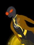 FNGR Scarecrow Yellow Lantern by CrimsonGlow