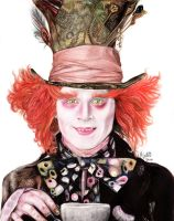 The Mad Hatter by lamotta94