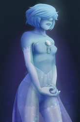 Shine bright like a Blue Pearl by JoanaTiago