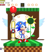 Sonic Diorama by ScepterDPinoy