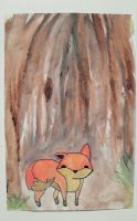 X Lonely Fox X by inlovewithgingerss