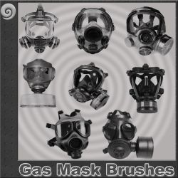 Gas Mask Brushes by Trash63
