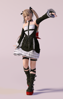 Marie Rose 3DS Render by x2gon