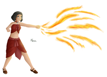 Nexa- Fire nation by laeity
