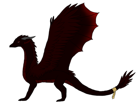 Jeremiah's Dragon Form by Longing-to-Belong