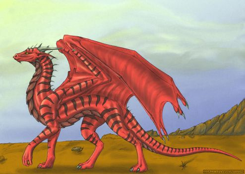 Drache Lilly by Beast3