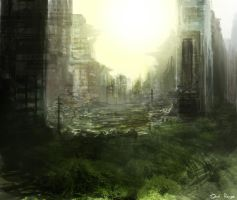 Post Apocalyptic City by Reeves123
