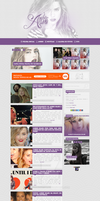 Amber Heard - Wordpress Theme #01 by twnchest
