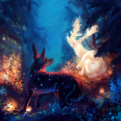 forest Guardian by AlaxendrA
