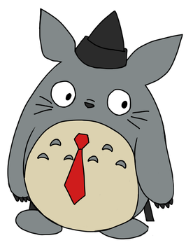 gift for Progressiveenforcer: Judge Totoro by WysternFlameheart