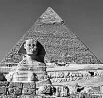 Great Sphinx of Giza by WhiteBook