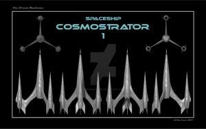 Spaceship Cosmostrator 1 ortho by dragonpyper
