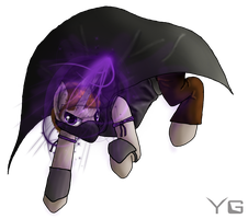 The Ender-Pony Rythian by YogsGen