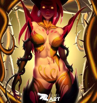 The Rise of the Thorns (rework) by exaelart