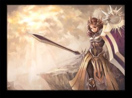 League of Legends---Leona by TEnmoom
