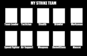 Strike Team Template by MrAwesome31