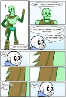 Undertale Green Chapter 2 Page 23 by FlamingReaperComic