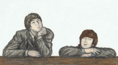 Lennon McCartney gone Raphael by gagambo