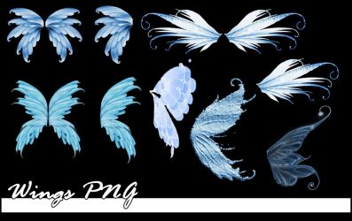 Wings PNG by bluezircon-graphics