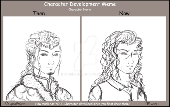 Character Development Meme: Cryodhan/Rian by FullElven
