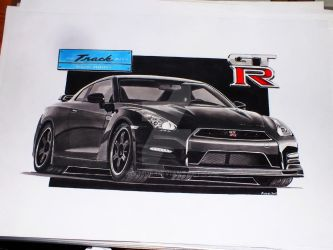 2014 Nissan GT-R Track Edition by przemus