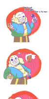 How Sans Learned the Art of Dodging (pt.1) by Hotaro-sui