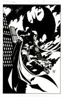 Batman Commission by KenHunt
