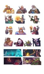 Tavern fame character compilation by BattlePeach