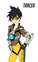Tracer - Overwatch by dnaworld