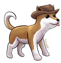 The friendly Pupper from Super Mario Oddyssey by JamoART