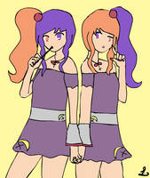 Fruity Twins by TwistedCorn