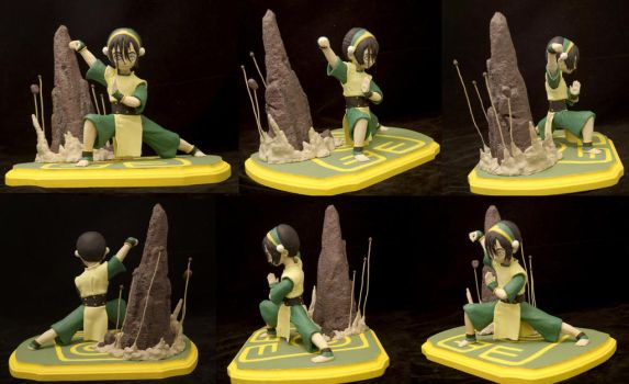 Toph Maquette Turnaround by Ariel523