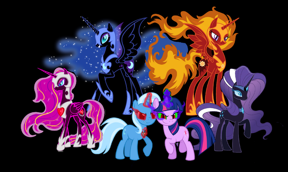 MLP: Pure Evil by 3D4D