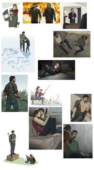 The Last of Us Collections by doubleleaf