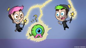 FAIRLY ODD YOUTUBERS - Jacksepticeye / Markiplier by NaiBuff