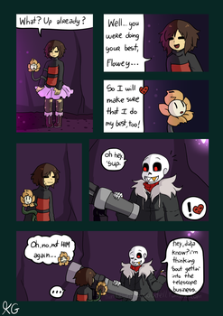 Underfell - Waterfall - 65 by Kaitogirl
