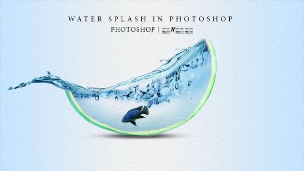 Water dispersion effect in Photoshop by Papon-Graphics