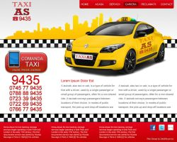 Taxi Website by datamouse