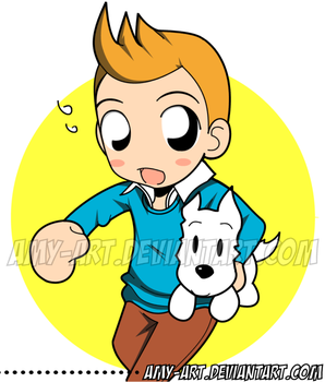TINTIN by amy-art